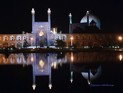 Emam mosque (Far_above_the_clouds) Tags: iran architectural historical iranian isfahan shahabbasmosque