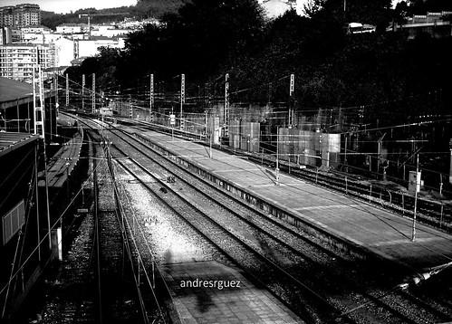 Estación de Vigo (ByN)