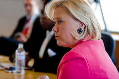 Sen. Mary Landrieu (D-LA), Photo by Lindsay Beyerstein
