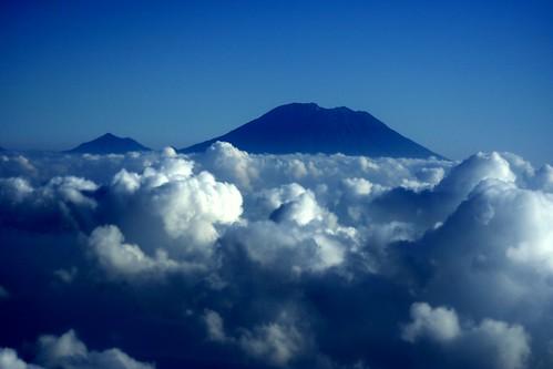 Gunung Agung aerial
