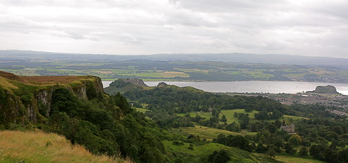Dumbuck hill to Dumbarton Rock