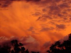 World Ablaze (mountainbeliever) Tags: nature colors beauty clouds skies god vivid sunsets images vision mothernature allsky godsworld gloriouscolors perfectsunsetssunrisesandskys coloradothunderstorms
