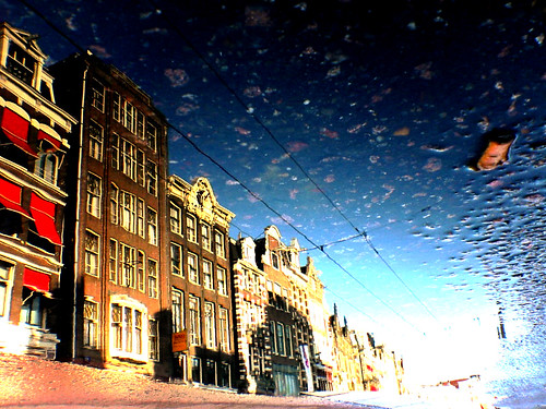 Reflections Of Amsterd@m - There's Light At The End Of The Puddle!