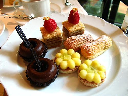 西華飯店Harrod's午茶甜點盤