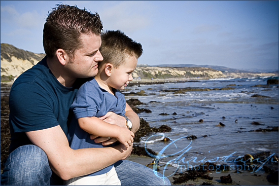 ChristanP Photo - Father and son at the beach