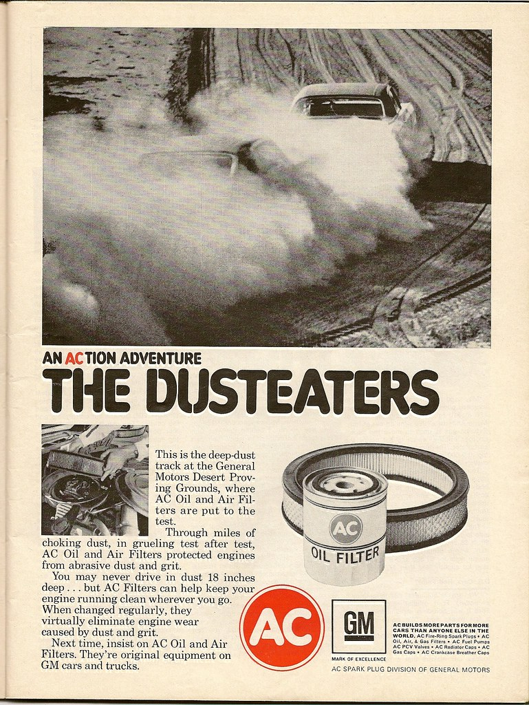 AC filter ad, 1970