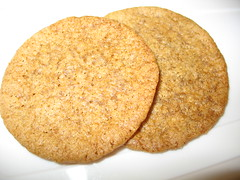 Maple Gingersnaps