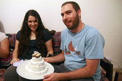 we made D&E a wedding cake! (Natalu.) Tags: weddingcake dafne erez naamul natalul
