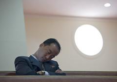 Bongsu Church in Pyongyang - North Korea (Eric Lafforgue) Tags: pictures travel temple photo war asia sleep picture korea kimjongil asie coree protestant journalist journalists northkorea pyongyang  dprk  coreadelnorte juche kimilsung nordkorea lafforgue   ericlafforgue   coredunord coreadelnord  8973 northcorea coreedunord rdpc  insidenorthkorea  rpdc   demokratischevolksrepublik coriadonorte  kimjongun coreiadonorte
