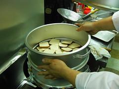 排好上鍋燻