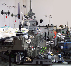 11 (Rogue Bantha) Tags: rebel star lego tie mini imperial xwing wars monorail base atat bwing