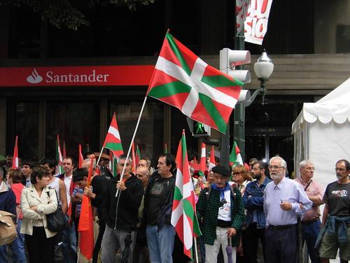 Manifestacion en Euskadi