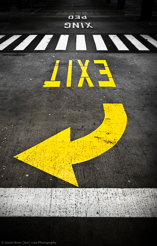 Ped Xing Exit by Justin Korn