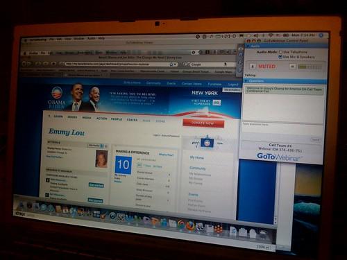 Obama Webinar