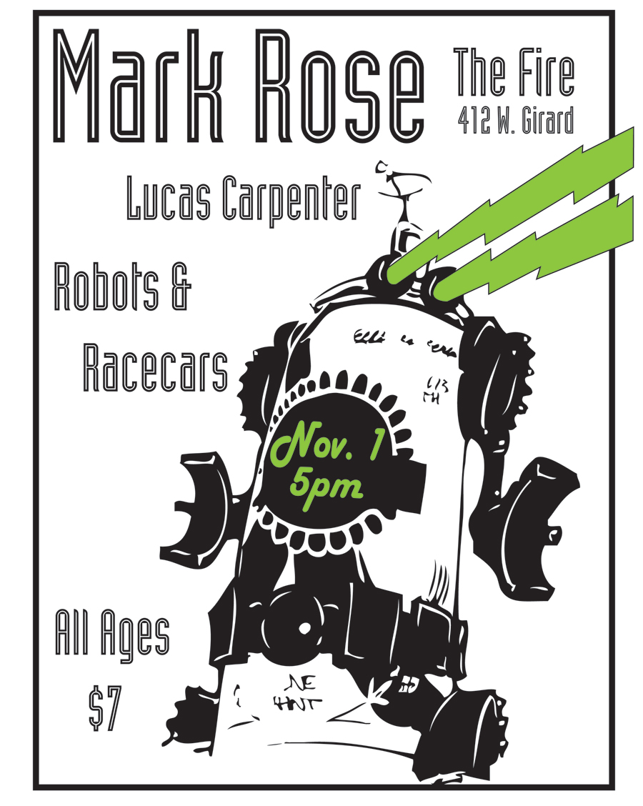Mark Rose flyer