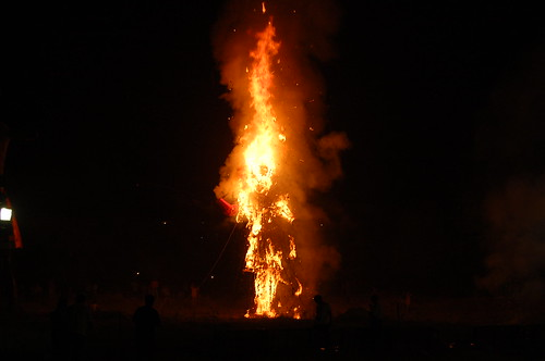 Dussehra - Indian Burning Man