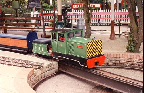 Brookside Garden Centre Railway (early 1990s)