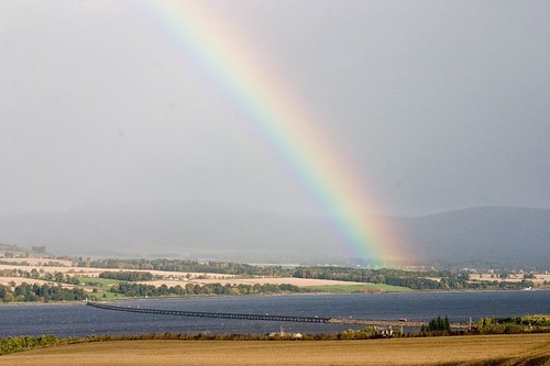 Rainbow at Cromarty Firth