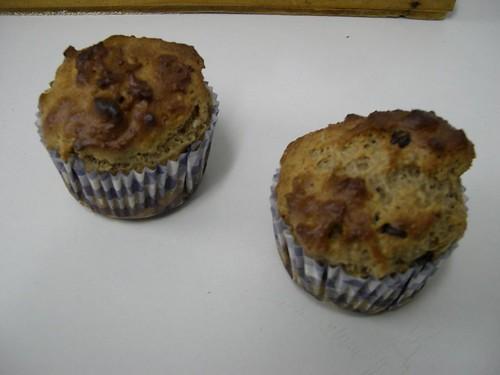 MAGDALENA DE CACAHUETE Y CHOCOLATE