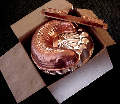 "Ten bucks for the whole box! Copper-Colored or ""Pink"" Aluminum found on my trip. Do you love it or hate it?"
