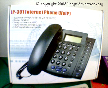 IP 301 Internet Phone(Voip)