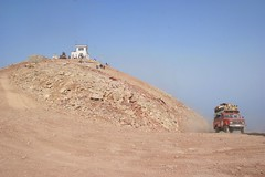 Arriving on top of Babadag Mountain, Oludeniz, Mugla, Turkey