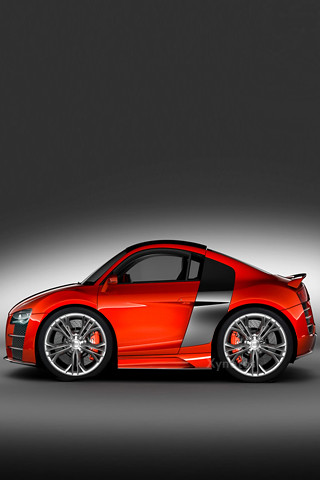 audi r8 wallpaper. Mini Chopped Audi R8