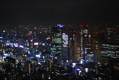 Noche de Tokio 3 (desde Torre de Tokio, 250 m)