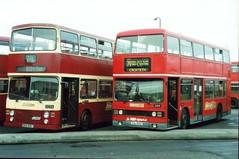 2159-01 (Ian R. Simpson) Tags: leyland titan londontransport cul159v t159 eka156y metrobus alexanderrh merseybus mcw merseysidetransport heyshamtravel bluebird mkmetro londonbuses gtlbuses glenvaletransport gtl mtl bus buses gillmoss depot yard