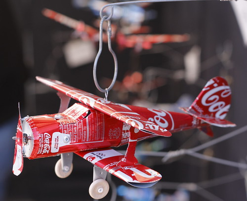 Coke Can Airplane