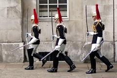 Uniform-ity (leehobbi) Tags: uk london soldiers cavalry royalhorseguard