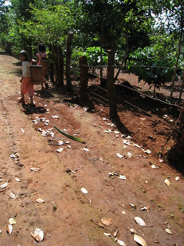 Jarai village girls
