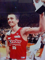 Manu Ginobili With Virtus Bologna