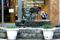 Duras (47) un des nombreux puits (Marie-Hélène Cingal) Tags: france southwest well duras puits bastide sudouest aquitaine lotetgaronne