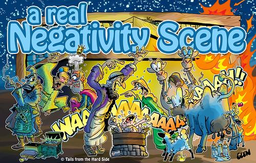 the negativity scene