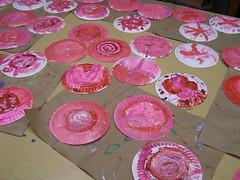paper plate candies all glittered up--nutcracker disaster take II (wimomz/kari) Tags: nov08 wimomz