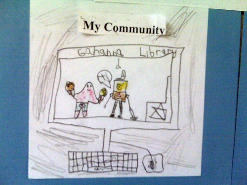 My youngest's definition of community