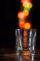 Bokeh Shot (Anders Adermark) Tags: light glass colors jack lights nightlights shot bokeh daniels colored jackdaniels shotglass bokehlights bokehlight bokehshot