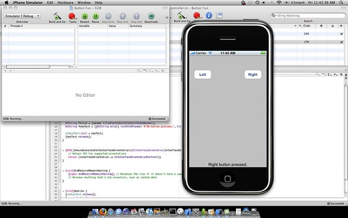 First iPhone / iPod Touch App by compscigrad.