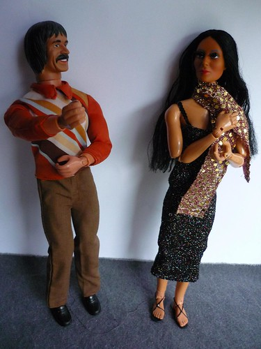 Sonny and Cher dolls - photo by natalia and gabriel