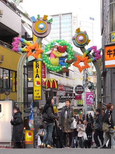 Takeshita Dori, Harajuku