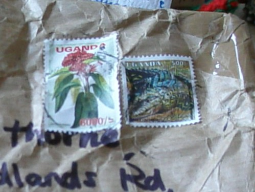 Ugandan stamps