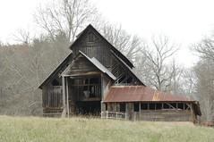 Winter Barn (luxomni) Tags: roof barn tin nikon d2x nikkor decrepit tinroof 2485mmf284d luxomni