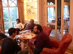 Tea at Ballynahinch Castle