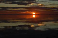 Murcia (San Pedro del Pinatar) (Luis Costa G.) Tags: espaa luz beach sunrise spain mediterraneo playa murcia paseo amanecer nubes reflejo marmenor sanpedrodelpinatar costacalida maanadeinvierno