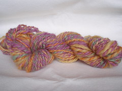 Color Experiment skein 1
