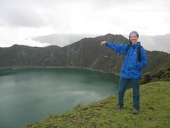 Me at Quilotoa (Kaarin T) Tags: lake ecuador andes quilotoa volcaniclake