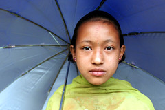 Young girl  Dansing (Jules1405) Tags: world street travel nepal portrait people girl face children asian kid asia child little district young asie dansing nepali asiatique reflectionsoflife lovelyphoto jules1405 unseenasia dhading