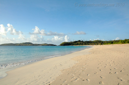 North tip of Mahabang Buhangin, Calaguas Island, Camarines Norte