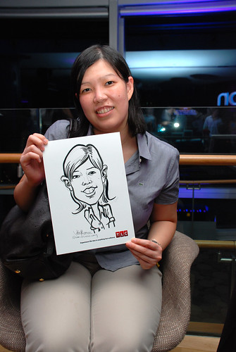 Caricature live sketching for TLC - 24